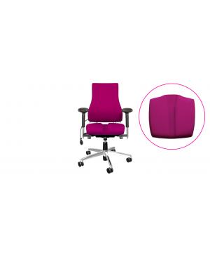 bureaustoel met gynaecologisch zitkussen