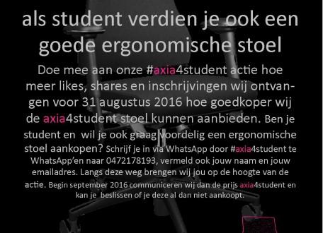 Als student verdien je ook een goede ergonomische bureaustoel!