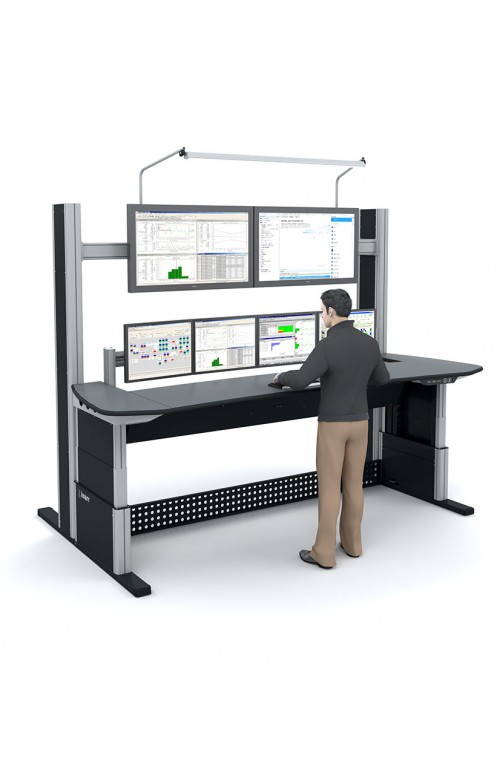 Inrichting controlekamer